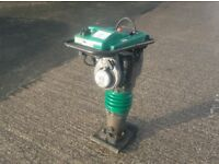 """WACKER BS60-2 TRENCH RAMMER/PLATE (Big 11"""" Foot Fitted)"""