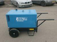 STEPHILL ULTRA SILENT SSD6000S 6KVA DUAL VOLTAGE GENERATOR 110v/240v OPTION