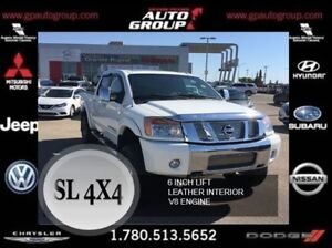 2011 Nissan Titan Lifted | Leather | Fender Flares
