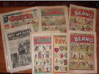 JOB LOT COMICS & ANNUALS 1879-1971