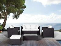 Outdoor Seating Set - Wicker Garden and Patio Furniture