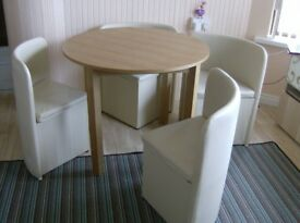 Dining Table and 4 chairs,