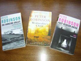 Peter Robinson Inspector Banks Series Consecutive titles 4 - 6