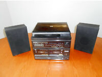 Vintage Murphy MS120 Twin deck Stereo Midi Music Centre.