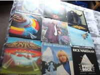 vinyl lps and singles for sale please see pictures