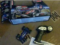 Remote control 3D twister. Mini racer. Speedy little fun toy. 5 years
