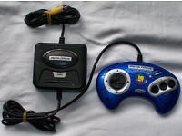 Sega megadrive emulator with 6 built in games.