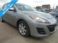 MAZDA 3 1.6 TS2 PETROL FULL SERVICE CLEAN **3 MONTHS WARRANTY INCLUDED** (silver) 2010