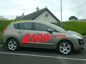 2013 Peugeot 3008 1.6Hdi Active, Very Clean Suv, Finance available