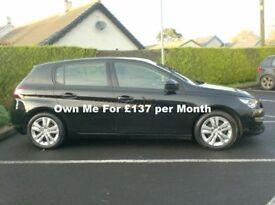 2014 Peugeot 308 1.6Hdi Active, free tax, One Owner.