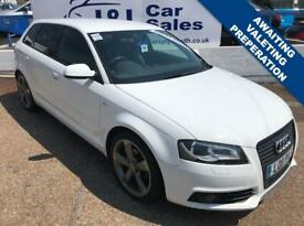 AUDI A3 2.0 SPORTBACK TDI S LINE SPECIAL EDITION 5d 138 BHP A GREAT EXAMPLE INSIDE AND OUT 2011