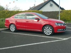 2013 Vw Passat 1.6Tdi Highline, One Owner, Top Spec, Finance available