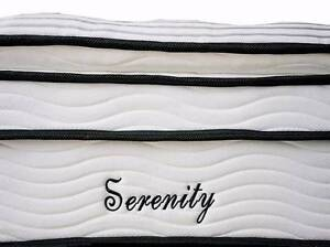 QUEEN Size Bed Mattress Orthopedic Pocket Spring Pillow Top New Farm Brisbane North East Preview
