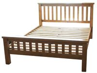 KING SIZE PINE BED IN EXCELLENT CONDITION (FRAME ONLY)