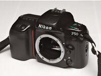 2 Nikon SLR, 1 Pentax SLR, 1 lens