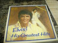 ELVIS GREATEST HITS DISQUE VINILLE