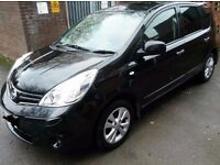 nissan note in excellent condition. full service history. 12months MOT