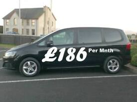 2012 Seat Alhambra 2.0Tdi 6 Speed, 140bhp 7 Seater.