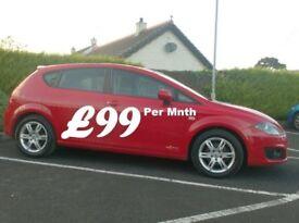 2012 Seat Leon 1.6Tdi Copa Ecomotive, Free tax.
