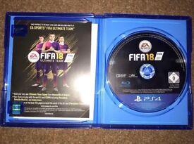 FIFA 18 - LIKE NEW - £30