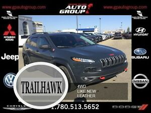 2016 Jeep Cherokee Trailhawk | Like New | Low KMS