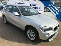 BMW X1 2.0 SDRIVE20D SE 5d 174 BHP A GREAT EXAMPLE INSIDE AND OUT (silver) 2009