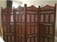 4 panelled screen
