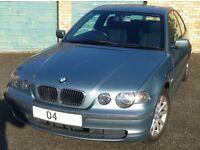 BMW 316Ti ES Manual, 2004