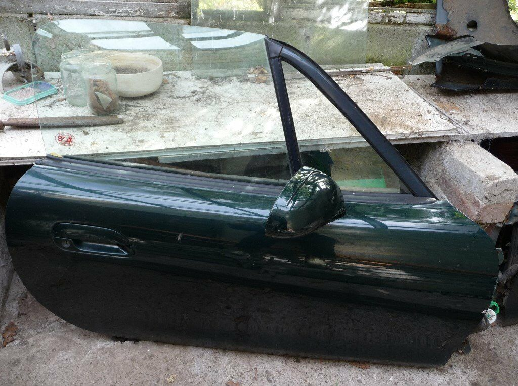 Mazda Mx5 Mk2 2 5 Drivers Door Dark Green Paint Code 18j In