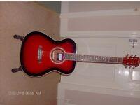 Steel Strung acoustic guitar