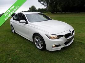 BMW 3 SERIES 2.0 320D M SPORT 4d AUTO 181 BHP (white) 2013