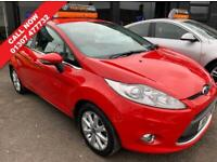 FORD FIESTA 1.4 ZETEC 16V 5d 96 BHP **REDUCED** (red) 2011