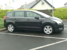 2012 Peugeot 5008 1.6Hdi, lovely Spacious 7 Seater