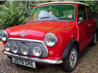 Beautiful Red 1991 Classic Rover Mini Mayfair Auto for sale