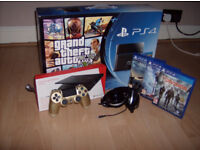 PS4 500GB. Excellent condition. All packaged as new with accessories.
