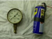 Brass pressure guage for sale