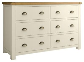 Kent 3+3 Drawer Chest - Two Tone