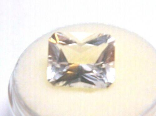 Goshenite (Colorless Beryl) 5.28CT 12x10x7mm Emerald Loose Natural Gemstone  NEW