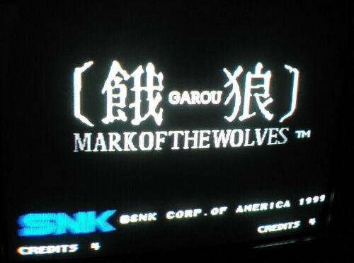 *** Garou Mark of the Wolves Neo Geo MVS Arcade Jamma ***