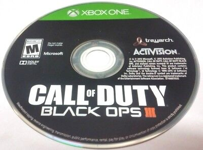 Call Of Duty  Black Ops Iii  Microsoft Xbox One  2015  Disc Only  Wall