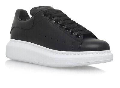 Brand New alexander mcqueen trainers Black Size 10