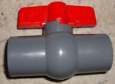 34 Inline Ball Valve - Tee Handle Shut-off Valves -34 Female Pipe Thread