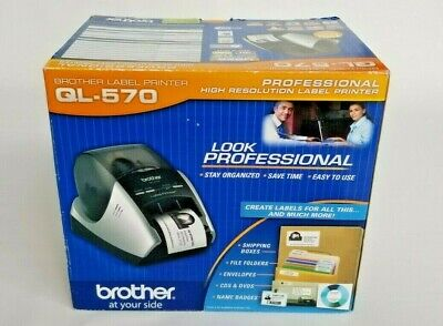 Brother Ql-570 Professional High Resolution Thermal Label Printer - New