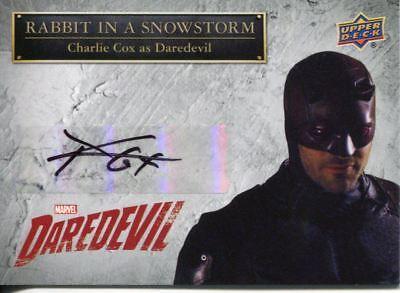 Daredevil Seasons 1 & 2 Autograph Card SS-DD Charlie Cox as Daredevil
