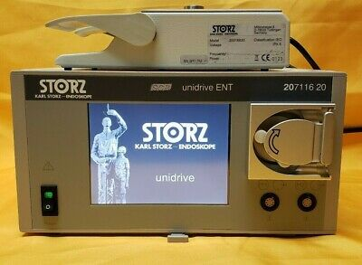 Karl Storz 20711620 Scb Unidrive Ent With 20016630 Foot Switch.