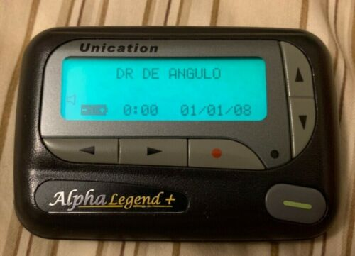 Motorola Unication Alpha Legend + Pager with Holster