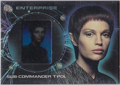 STAR TREK ENTERPRISE SEASON 2 GALLERY G2 JOLENE BLALOCK T'POL INSERT