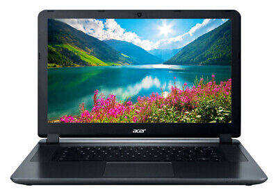 "NEW Acer Chromebook 15.6"" HD Intel Atom x5 E8000 4GB RAM 16GB eMMC Webcam BT"