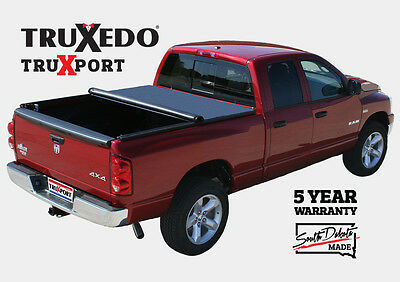 "TruXedo TruXport Soft Roll-Up Tonneau Cover Chevy Silverado/GMC Sierra 6'6"" Bed"