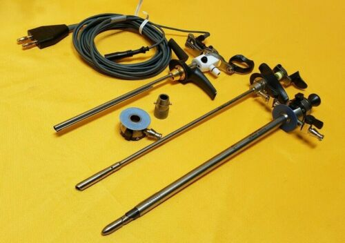 Olympus WA22367A Resectoscope, A22041A Inner,A22021A Outer Sheath,WA00013A Cable